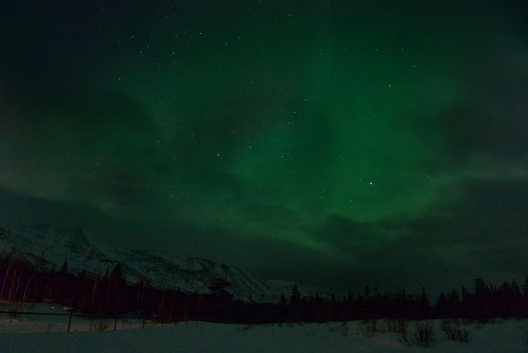 Aurora borealis in Russia 11