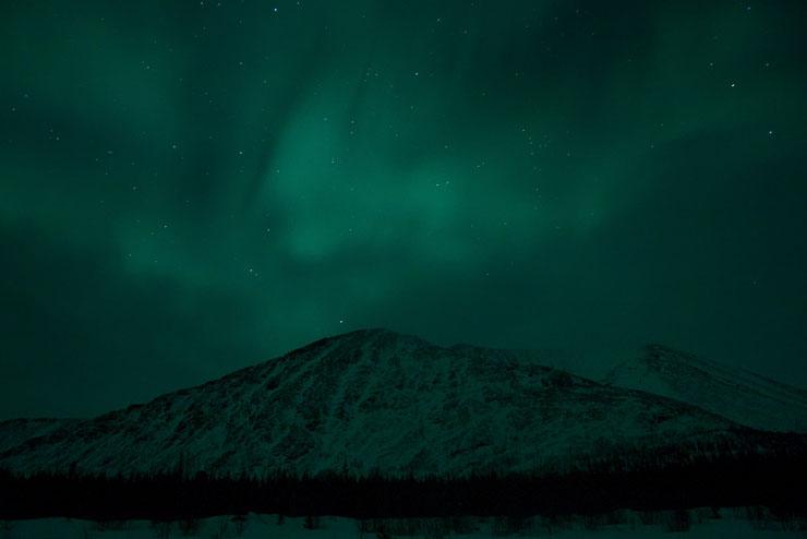 Aurora borealis in Russia 14