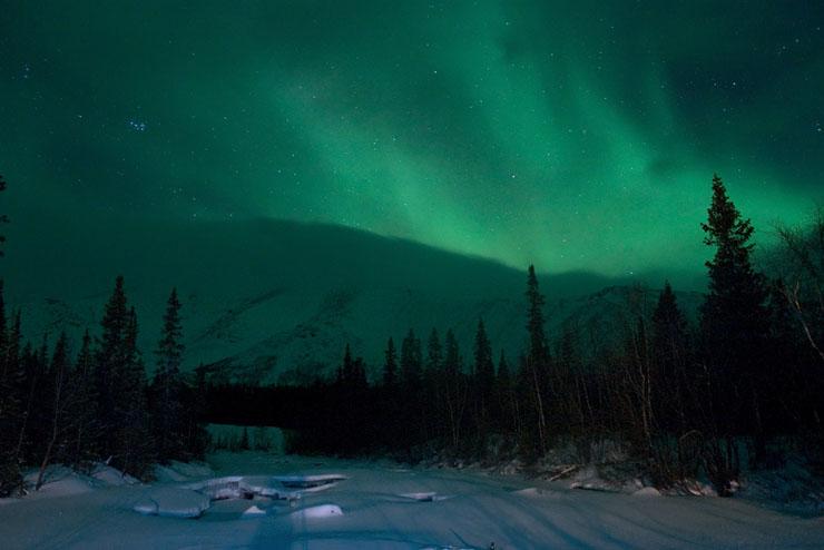 Aurora borealis in Russia 17