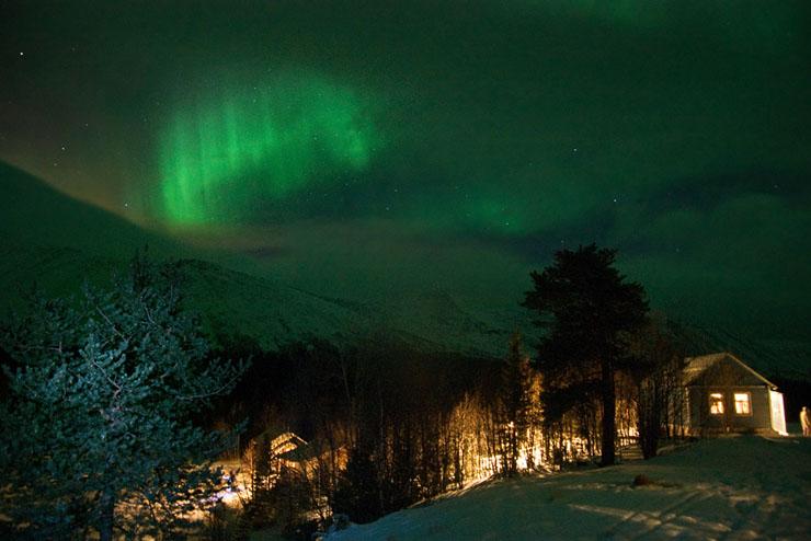 Aurora borealis in Russia 3