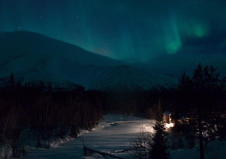 Aurora borealis in Russia 4