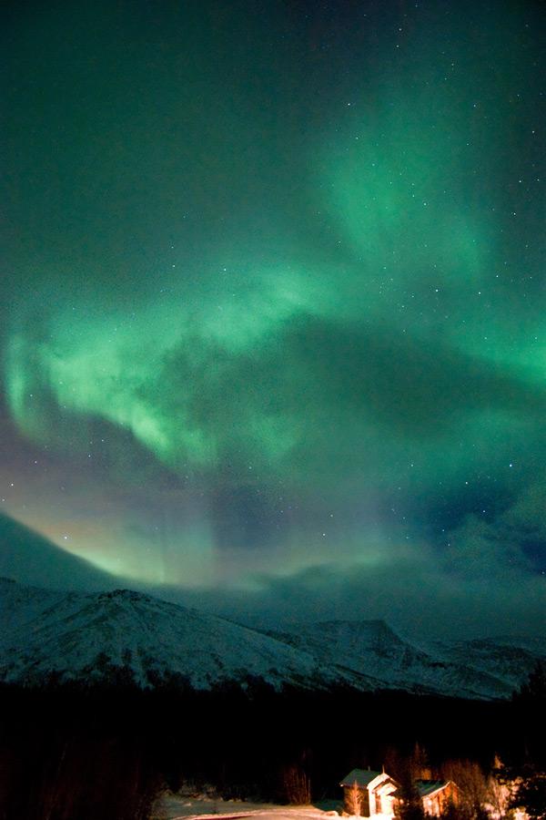 Aurora borealis in Russia 5