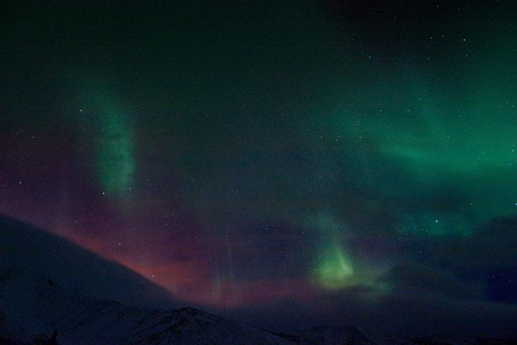 Aurora borealis in Russia 6