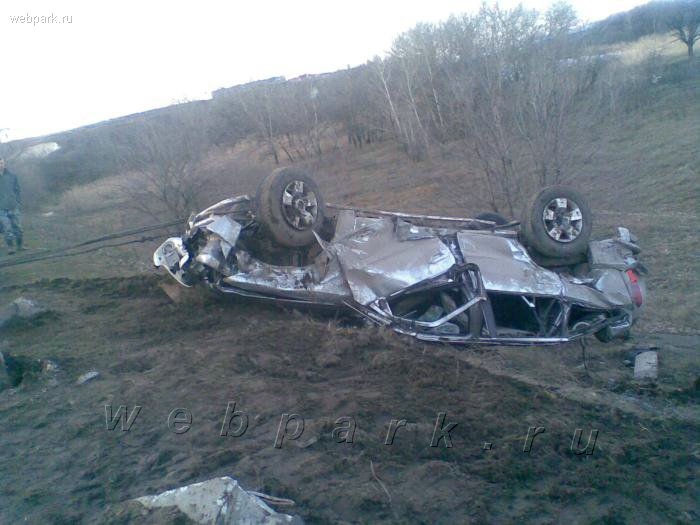 russian guy crashed nissan patrol 3