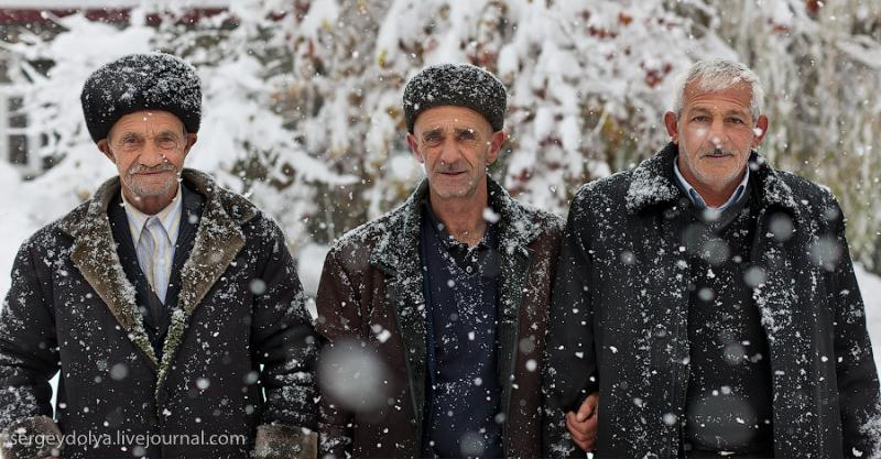 Azerbaijan In Snow Two 10