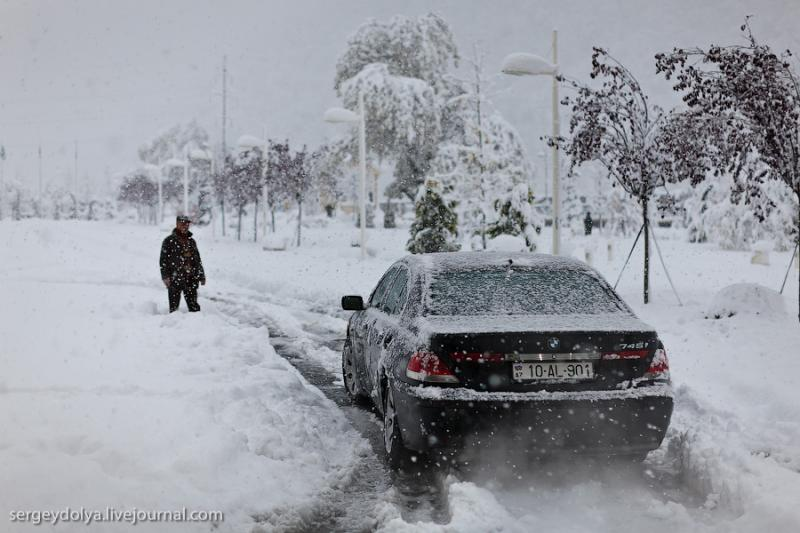 Azerbaijan In Snow Two 9