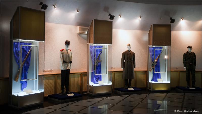 Back To The Kalashnikov Museum 1