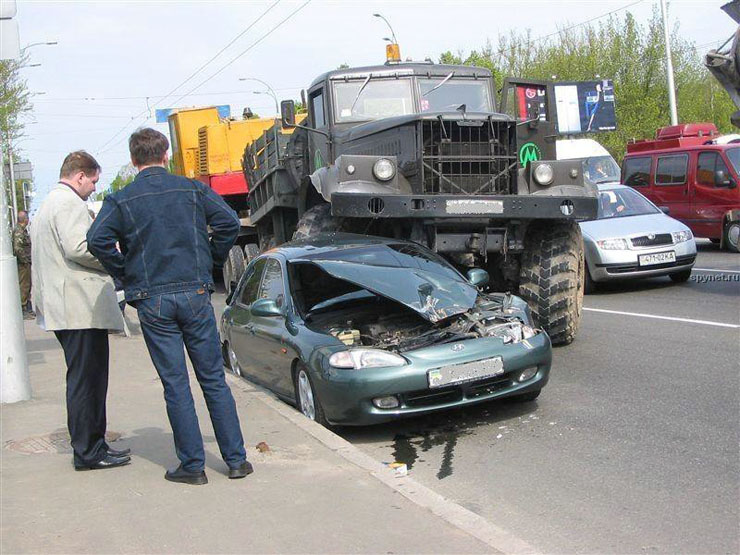 car wrongly parked in Russia 3