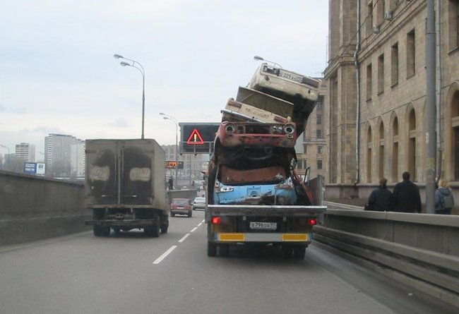 transportation in Moscow, Russia 2