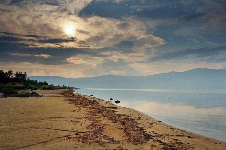 Russian nature, Lake Baikal view 1