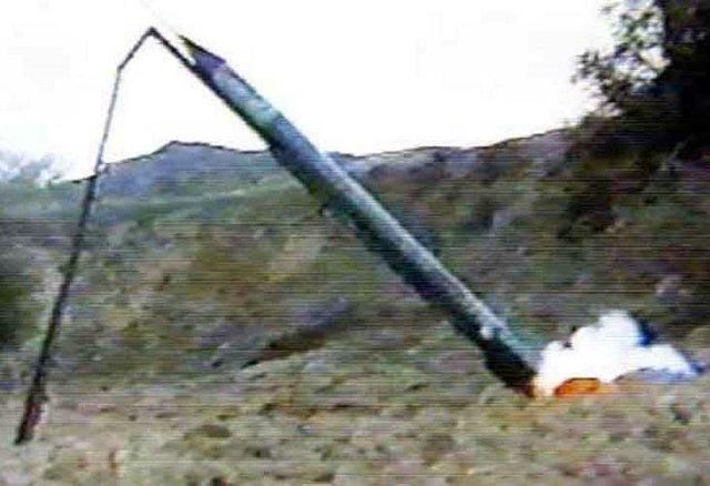kassam missile launch
