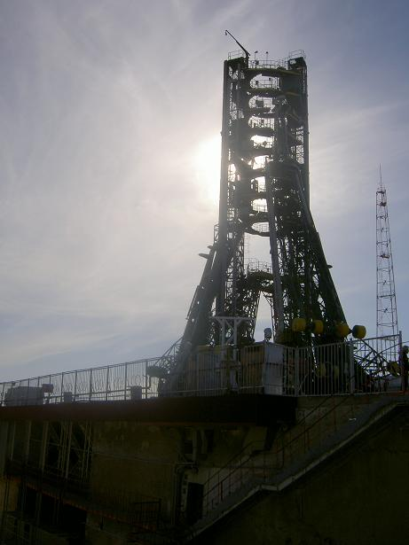 Russian Baikonur space centre 1