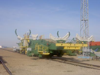 Russian Baikonur space centre 2