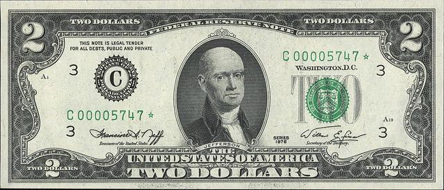American dollars bald 1