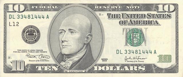 American dollars bald 3