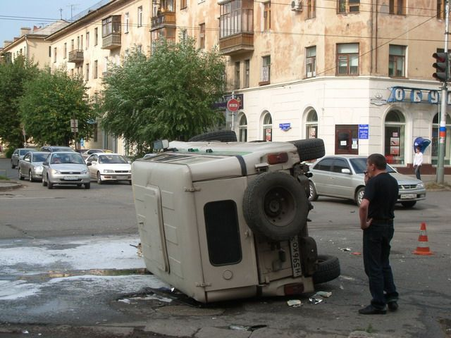 bank collector car crashed in Russia 3
