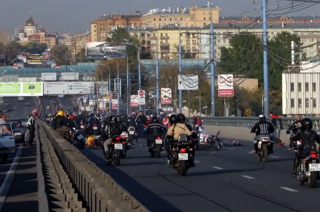 Russian bikers 4