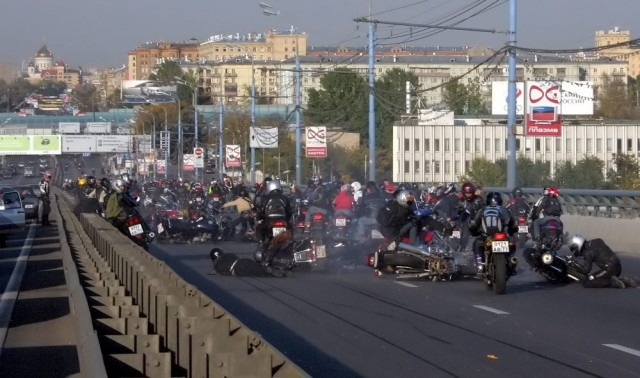 Russian bikers 6