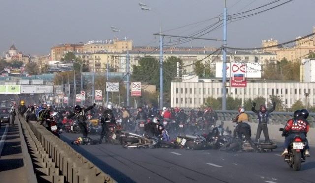 Russian bikers 8