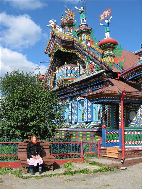 Russian blacksmith\'s house 1