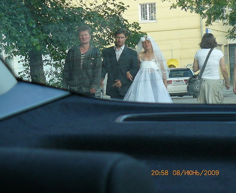 Russian bride and groom 3