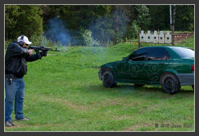 BMW Shot Down 6