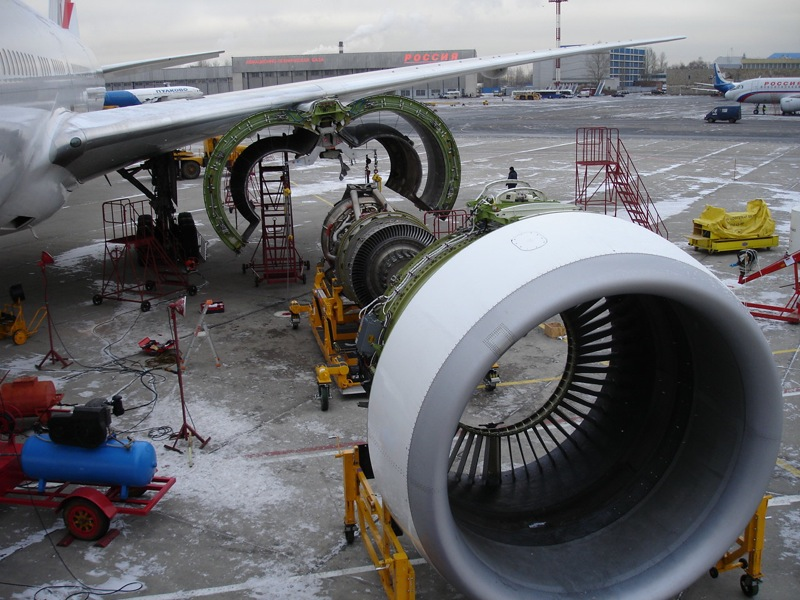 Russian boeing engine replacement