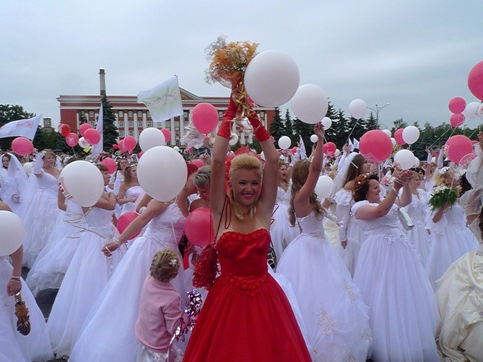 Russian brides on parade 2