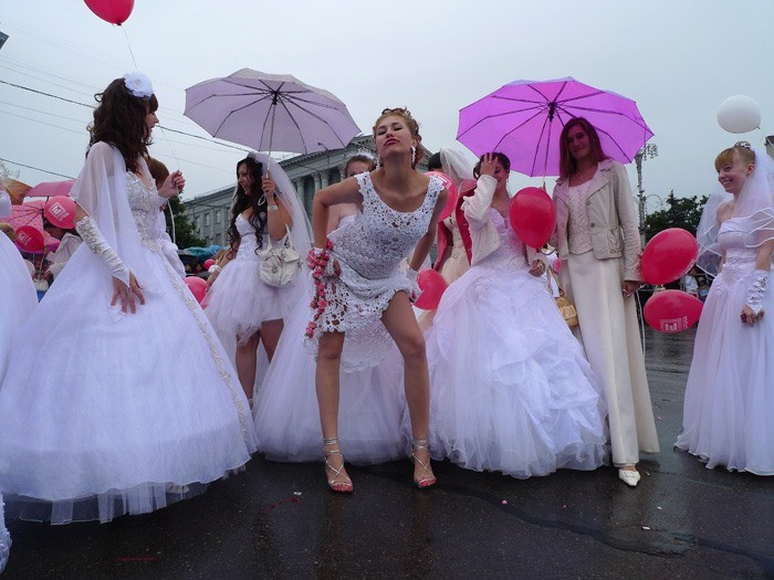 Russian brides on parade 4