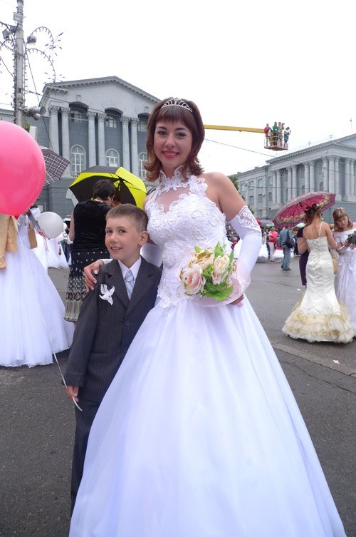Russian brides on parade 6