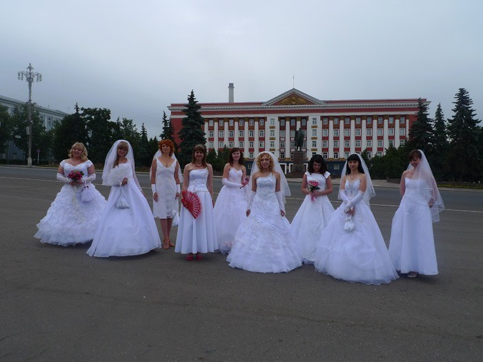 Russian brides on parade 9