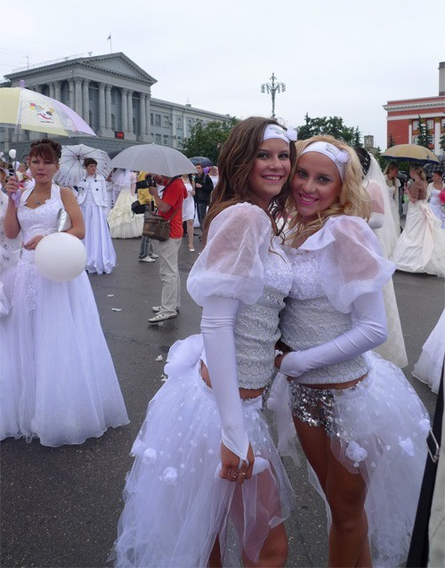 Russian brides on parade 10