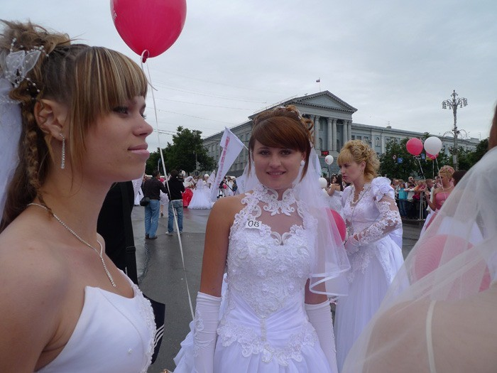 Russian brides on parade 30