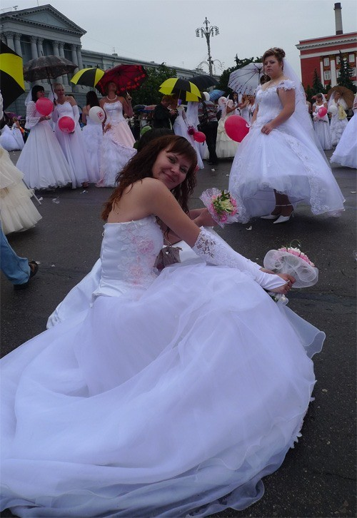 Russian brides on parade 33