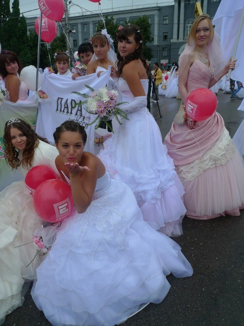 Russian brides on parade 34