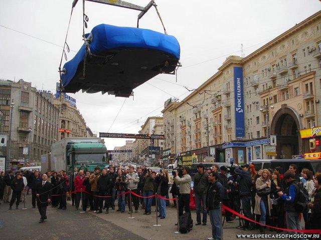 Bugatti Veyron in Moscow