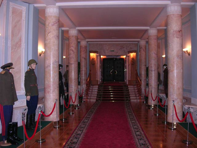 the secret underground shelter for Stalin 11