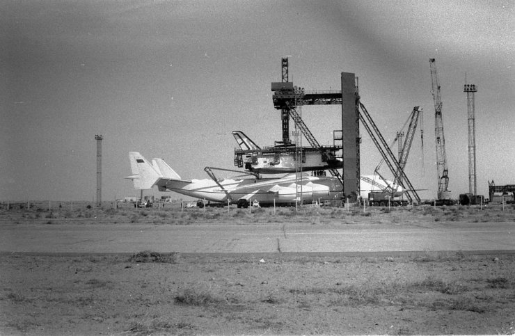 buran, the only one soviet space shuttle 1