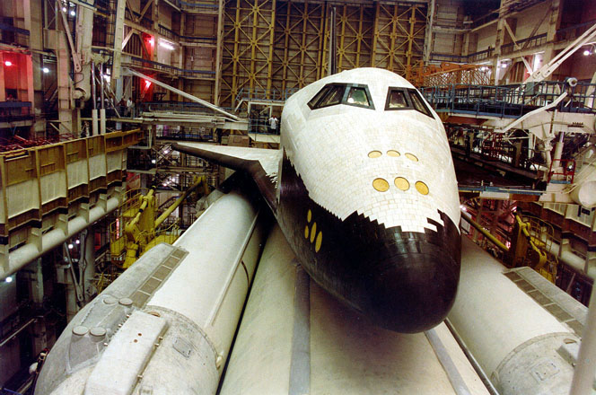 buran, the only one soviet space shuttle 12