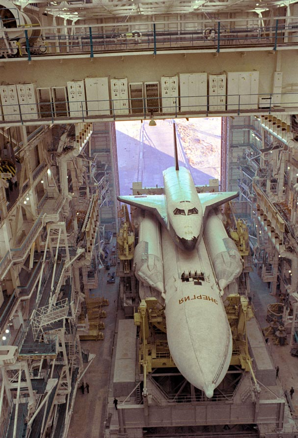 buran, the only one soviet space shuttle 13