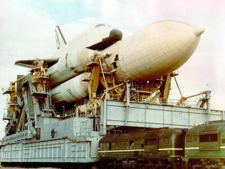 buran, the only one soviet space shuttle 17
