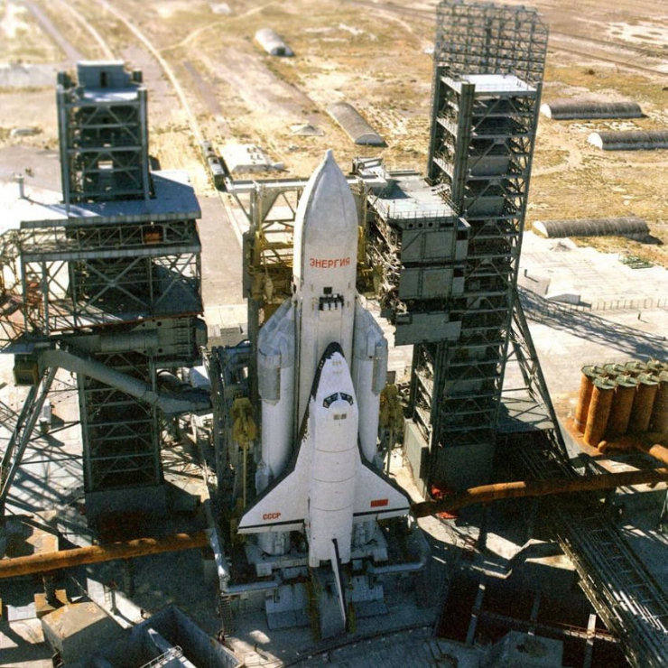 buran, the only one soviet space shuttle 39