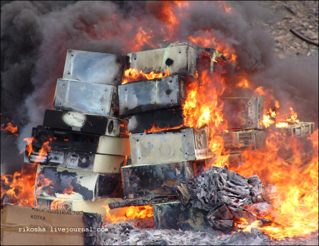 burning down pcs in Russia 10
