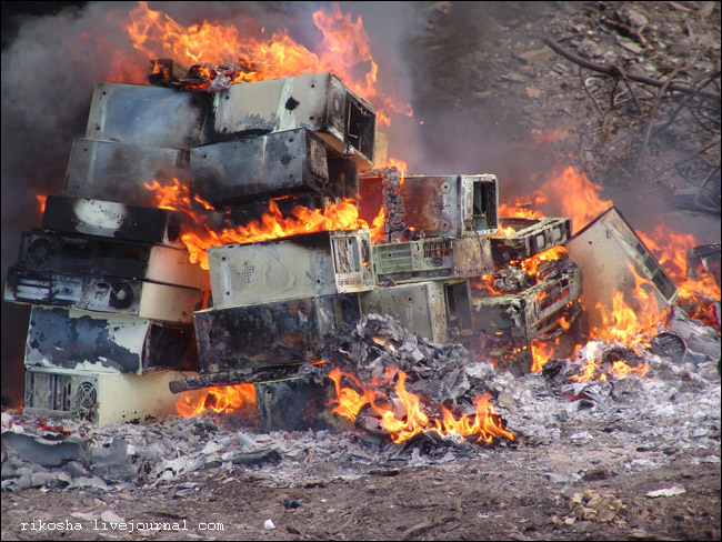 burning down pcs in Russia 11
