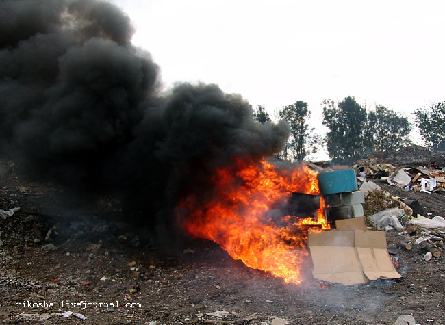 burning down pcs in Russia 4