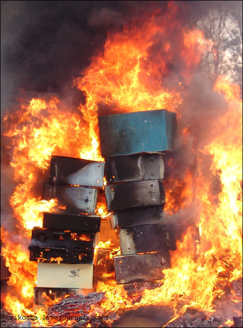 burning down pcs in Russia 6