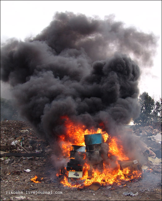 burning down pcs in Russia 7