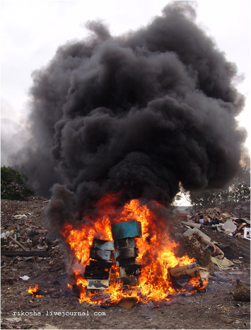 burning down pcs in Russia 8