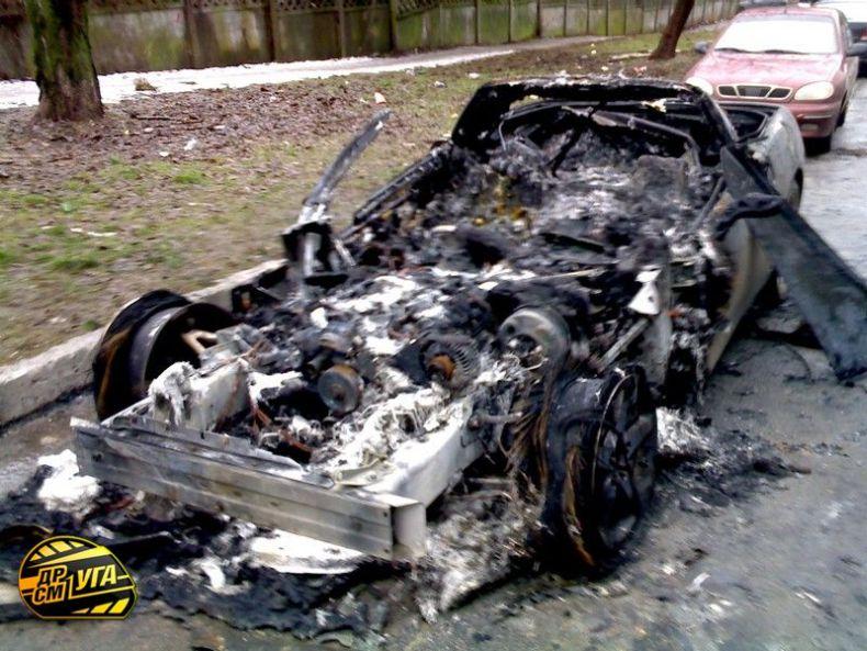 Corvette burned down in Ukraine, Russia 1