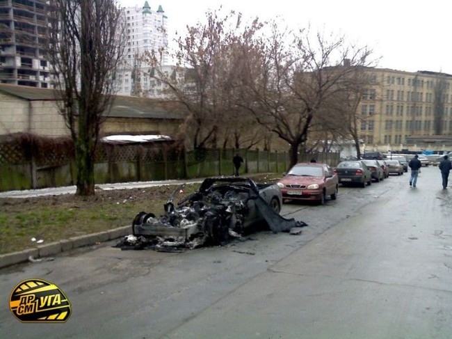 Corvette burned down in Ukraine, Russia 2